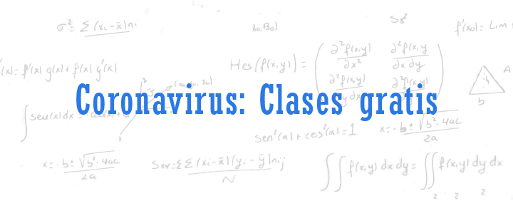 coronavirus clases gratis