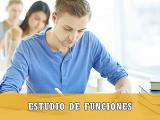 estudio de funciones selectividad