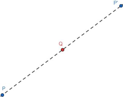 Punto medio de dos puntos en el espacio